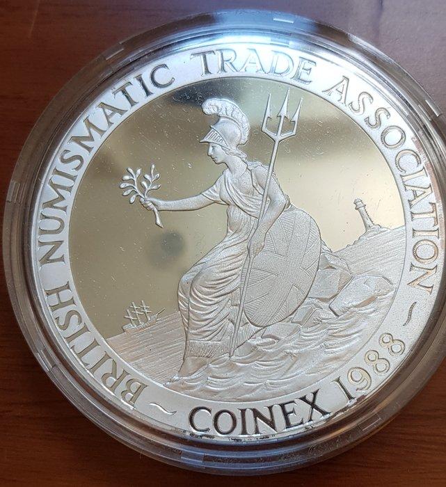 英國大銀章 1988 UK The 10th Anniversary of Coinex Silver Medal.
