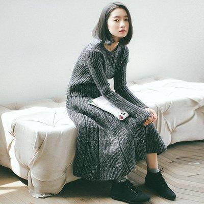 SeyeS  古著韓系時尚高磅數毛衣+...