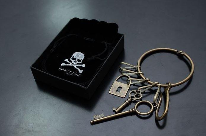 【NoComment】街頭潮流型男必備 古銅做舊鑰匙圈扣 MMJ NEIGHBORHOOD