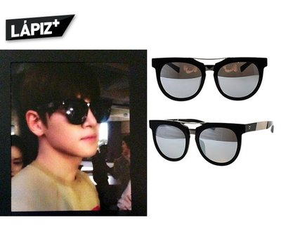 LAPIZ SENSIBLE ►(黑色框×銀色水銀鏡面) 墨鏡 太陽眼鏡 中性款|100%全新正品|特價!    池昌旭
