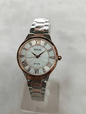 【精華鐘錶】網路購物、門市服務 BIBA 碧寶錶 公司貨 藍寶石 指針石英女錶 B322S105 新北市