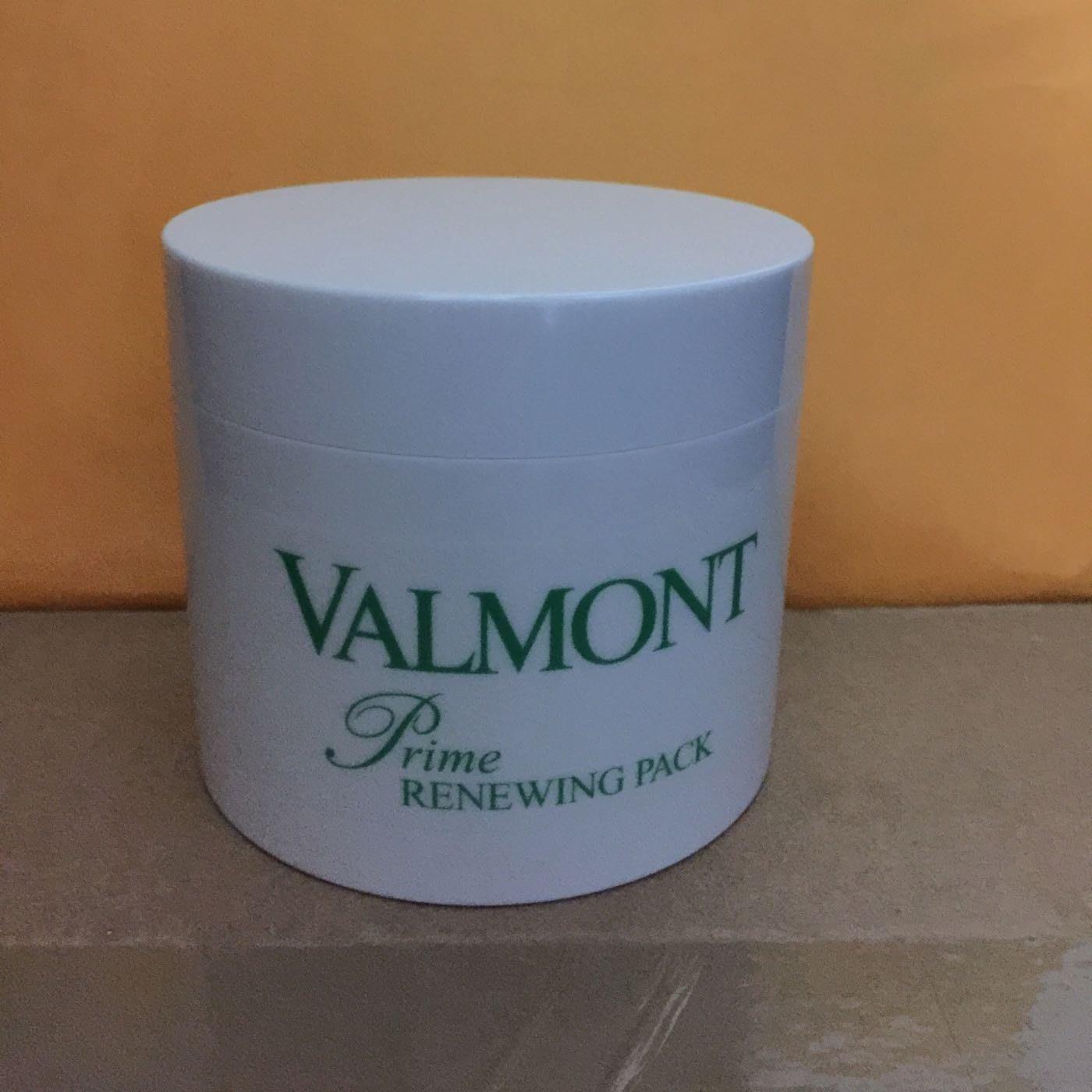 妞妞小舖Valmont 法兒曼新款肌密更新面膜prime Renewing Pack 200ml 大特惠現貨免運