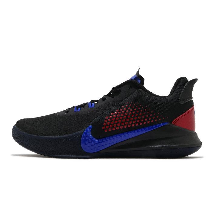 沃皮斯§ Nike Mamba Fury EP 黑藍 曼巴 KOBE 籃球鞋 CK2088-004