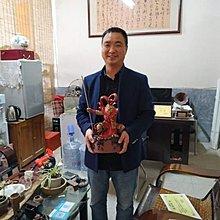 ㊣姥姥的寶藏㊣ 工藝美術大師張輝煌 獲獎作品『大聖歸來』附收藏証書 已合照 得標自行保存