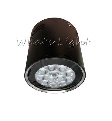 划得來LED燈飾~現代時尚 質感銀邊迷你黑筒燈 12燈15W LED吸頂聚光投射燈 三色溫可選 KS3-0463 含稅