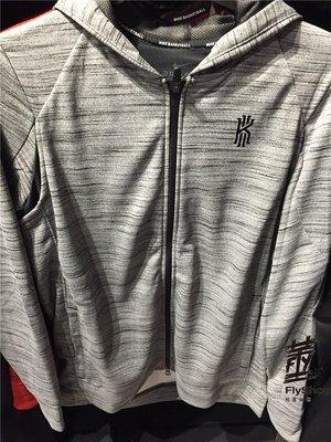 [飛董] Nike Kyrie M Nk Thrma JKT 連帽外套 刷毛 雪花 830661-010 灰 677 紅