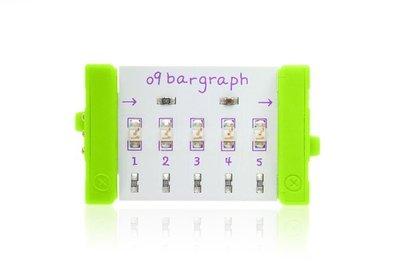 美國 littleBits 零件 (output):  BARGRAPH  (8折出清)