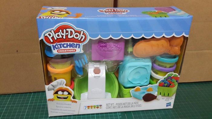 小丸子媽媽 雜貨店 培樂多廚房系列 雜貨店 培樂多黏土 孩之寶Hasbro 培樂多Play-Doh 創意DIY B028