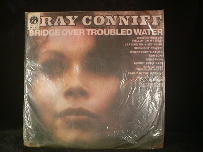 乖乖@賣場(LP黑膠唱片)12吋RAY CONNIFF BRIDGE OVER TROUBLED WATER西洋黑膠