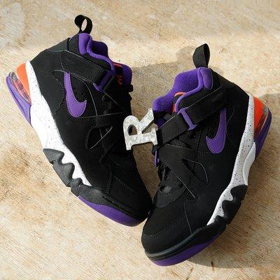R代購 Nike Air Force Max CB 惡漢巴克利 Barkley 黑橘紫 AJ7922-002