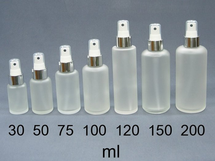 DP社【B26】MIT毛玻璃噴瓶銀色美國噴頭噴罐噴霧瓶化妝水瓶子玻璃水瓶瓶罐罐小噴瓶玻璃瓶批發30ml~200ml