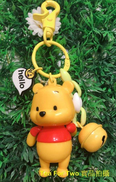 (現貨No.2) - 迪士尼卡通造型鑰匙圈 - 小熊維尼/大眼怪