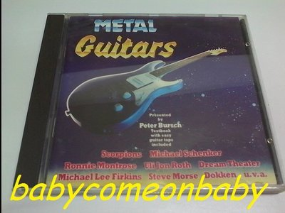 舊CD 音樂專輯 METAL GUITARS