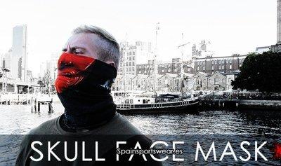 Spain Multifunction Headwear 哈雷 騎士面罩 防風 防曬 骷髏面罩 骷髏口罩 骷髏多功能頭巾