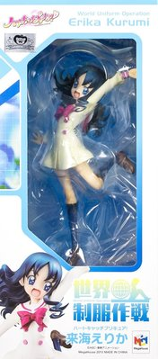 日本正版 MegaHouse MH 世界制服作戰 光之美少女 來海繪里香 海洋天使 1/10 模型 公仔 日本代購