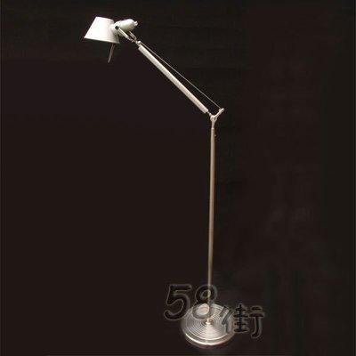 【58街-高雄館】義大利設計師款式「稻草人Tolomeo reading floor lamp落地燈」。複刻版。GU-106