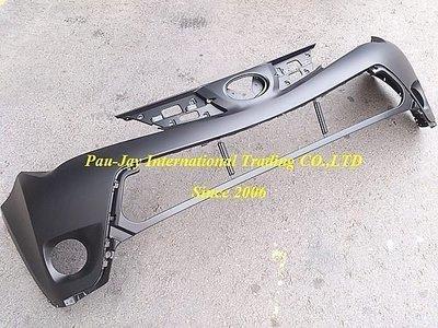 ※寶捷國際※ TOYOTA RAV4 2013 原廠型 前保桿-上段 台灣製造