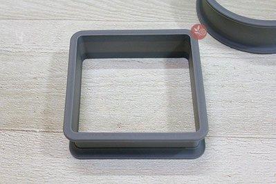 矽膠模_中空矽膠模(正方) _SI-105◎矽膠模.中空.正方.方形.蛋糕.慕斯.巧克力.模型.模具