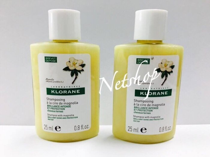 NETSHOP KLORANE  蔻蘿蘭 亮澤洗髮精 25ml ~公司貨 [包裝品滿六百免運] 2018/03