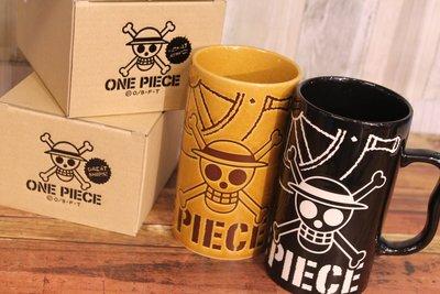 尼德斯Nydus 日本正版 限量 海賊王 One Piece 魯夫 海賊旗 馬克杯 啤酒杯 550ml 陶瓷 日本製