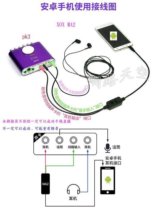 客所思比歌 MA2手機音頻適配器 網路天空 送166種音效