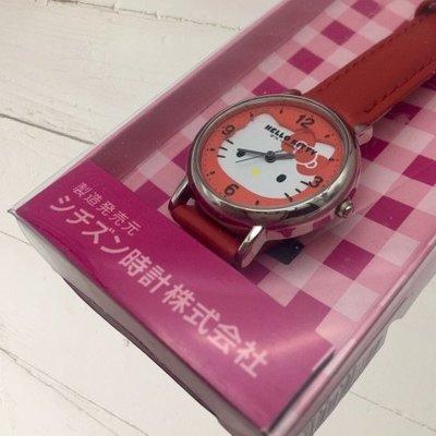 日本 CITIZEN 星辰錶 Hello Kitty 日常防水指針式手錶 日本限定 附盒