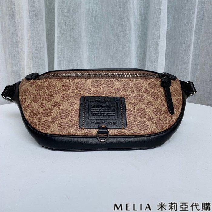 Melia 米莉亞代購 COACH 2019ss F40345 男女同款 胸包 腰包 休閒包 爆炸性設計不可少