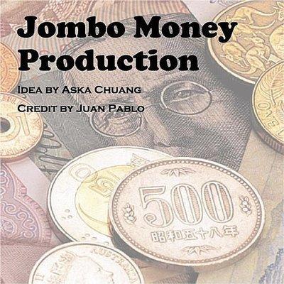 [MAGIC 999]魔術道具~JUMBO MONEY PRODUCTION 連續出超級大鈔票(美金)!!特賣500NT
