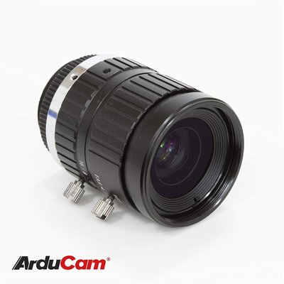 Arducam C-Mount Lens for RPi HQ, 16mm Focal 手動對焦和可調節光圈