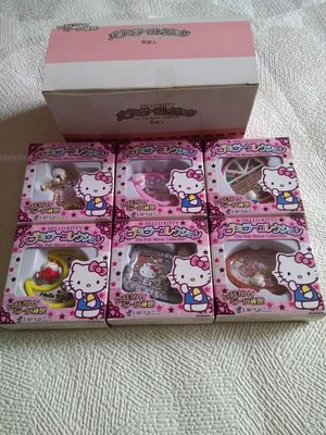 Hello Kitty 盒蛋鏡子一套六款齊 Pub Mirror Collection 2005年推出
