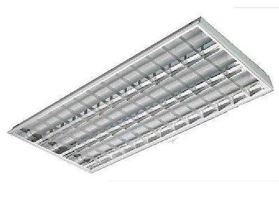萬華好商量~MARCH LED 54W 4尺3管 T8 輕鋼架燈具 附原廠燈管 LTTH4341 MH 40436