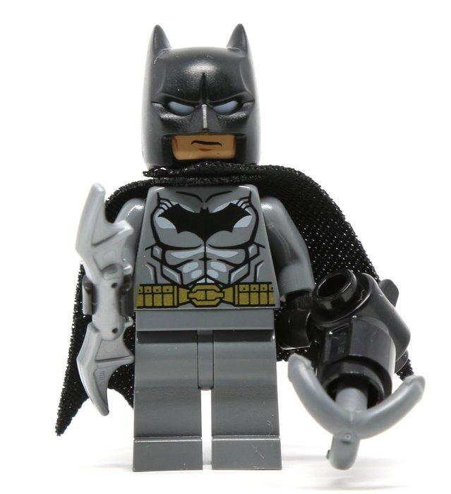 現貨【LEGO 樂高】2016 最新款 全新正品 積木/ 單一人偶: 蝙蝠俠+武器  黑暗騎士 Batman 76053