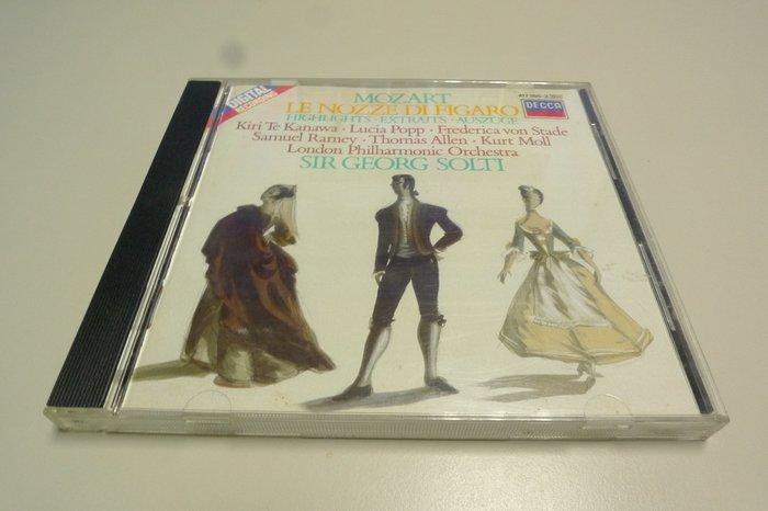 Solti 蕭提 Mozart 莫札特 費加洛婚禮 Le nozze di Figaro 選輯