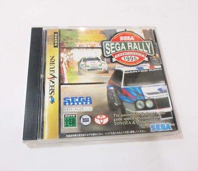 SEGA SATURN原版遊戲片  SEGA RALLY 越野賽車 / 日版