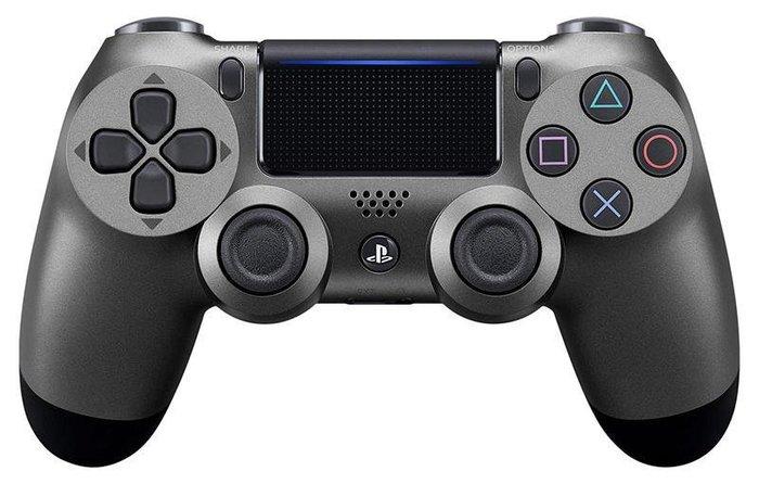 【勁多野】現貨供應 PS4 手把 新款無線控制器 DUALSHOCK 4 鋼鐵黑 台灣公司貨 一年保固+送矽膠套1組