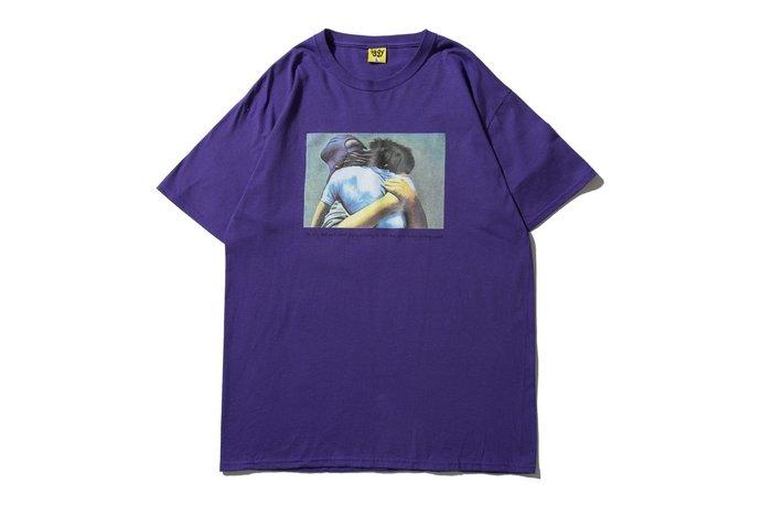 "[ LAB Taipei ] IGGY NYC ""STREETWISE TEE"" (Purple)"
