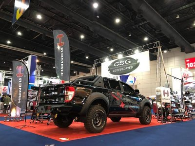 Ford 福特 Ranger 浪久 遊俠 4X4 4WD Pick Up 皮卡 Hamer 後保 後保桿 踏板 16+