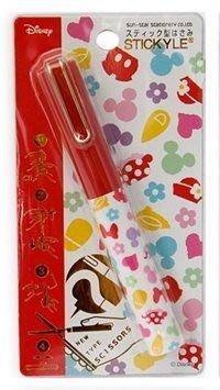 【三元】日本進口 Disney 迪士尼 隨身迷你筆型剪刀 收納剪刀 攜帶式剪刀_現貨 卡通圖案