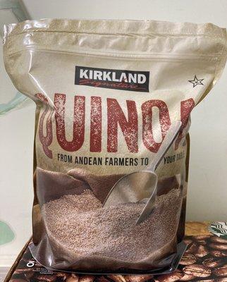 【佩佩的店】 COSTCO 好市多 Kirkland Signature 科克蘭 藜麥 2.04公斤 新莊可自取