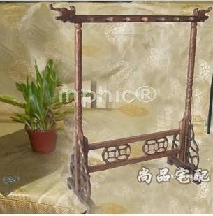 INPHIC-雞翅木(紅木)毛筆架 筆掛掛毛筆等 家居擺飾工藝品底座