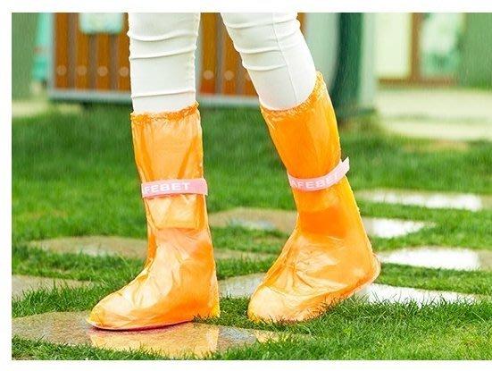 日韓加長防雨防滑雨鞋套防滑長筒雨靴套 防雨鞋套 韓系時尚防滑雨鞋套包覆到小腿高包覆透明方便防水鞋套攜帶收納