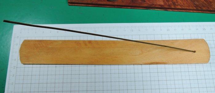 W40R2印度松木插香板 線香彎曲帶孔香座 光滑木質簡約時尚家居