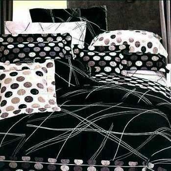 精梳棉單人床罩組-線性空間-台灣製 Homian 賀眠寢飾