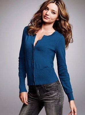 ☆°╮VS流行館╭°☆維多利亞的秘密Victorias Secret◎低胸性感針織外套(現貨在台)