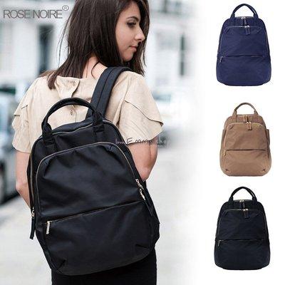 EmmaShop艾購物-日本韓國同步上市-大容量學院軟肩尼龍後背包/媽媽包/空氣包