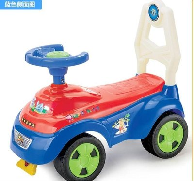 嬰兒兒童踏行寶寶可坐玩具四輪滑行溜溜學步車LVV8916【歡樂購】