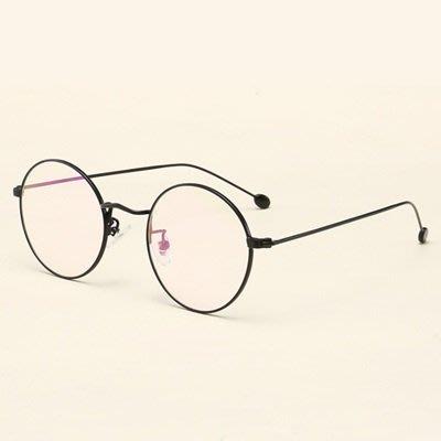 眼鏡 框 圓框 鏡架-簡約復古文藝百搭男女平光眼鏡6色73oe77[獨家進口][米蘭精品] 高雄市