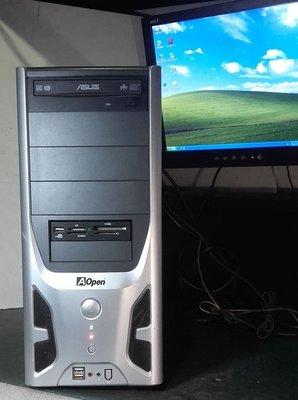 【窮人電腦】自組技嘉雙核商業主機跑Windows XP系統!桃園中壢以北可親送!外縣可寄!