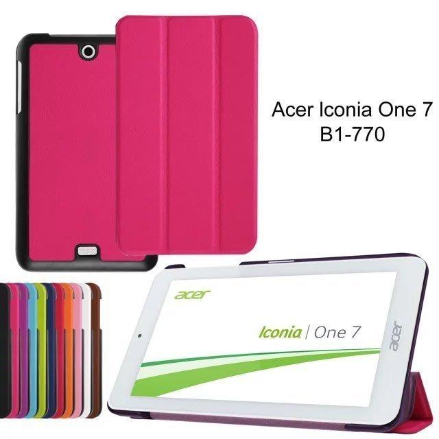 *蝶飛*Acer Iconia One 7 皮套 B1-770 皮套 保護套 b1-770 皮套 超薄三折