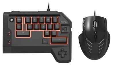 【二手商品】PS4 PS3 雙用 HORI TAC 戰術突擊指揮官 鍵盤 滑鼠 FPS 轉接 裸裝9成新【台中恐龍電玩】